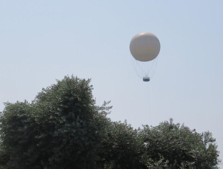 כדור פורח - פארק הירקון